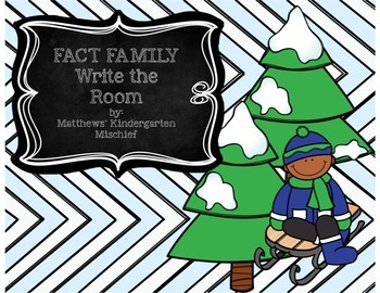 Fact Family Write the Room