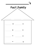 Fact Family for First Grade