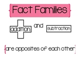 Fact Family practice and introduction