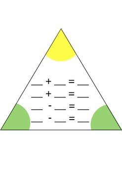 Fact Family triangle