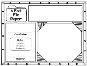 Fact File: An Animal Research Report