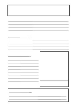 Fact File Template