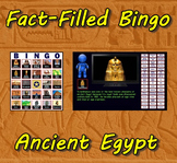 Fact-Filled Bingo - Ancient Egypt