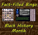 Fact-Filled Bingo - Black History Month