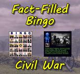 Fact-Filled Bingo & Slideshow - Civil War