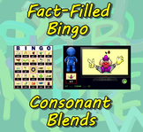 Fact-Filled Bingo - Consonant Blends
