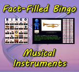 Fact-Filled Bingo - Musical Instruments
