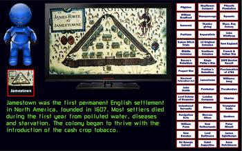 Fact-Filled Bingo & Slideshow - Colonial America