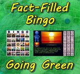 Fact-Filled Bingo & Slideshow - Going Green (Earth Day)