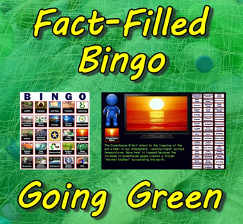 Fact-Filled Bingo & Slideshow - Going Green