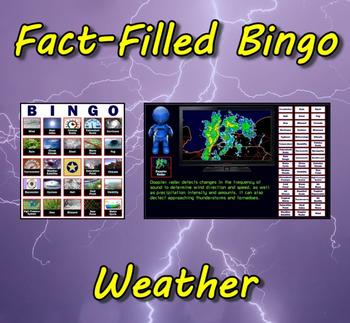 Fact-Filled Bingo: Weather