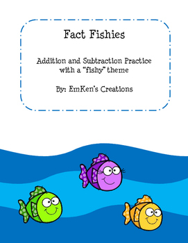 Fact Fishies Addition and Subtraction Practice