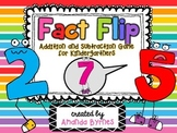 Fact Flip (Addition and Subtraction Partner Game)