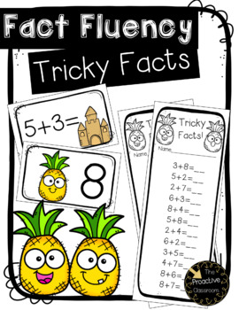 Fact Fluency Adding Tricky Facts within 20