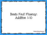 Fact Fluency: Addition 1-10