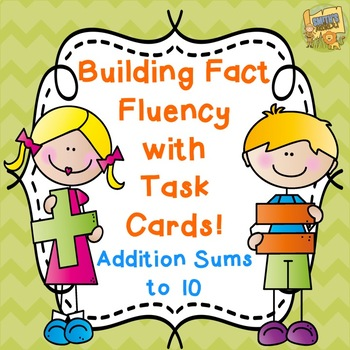 Fact Fluency!  Addition Facts - Sums to 10 Grades 1-3