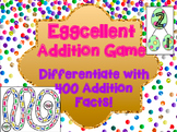 Addition Fact Fluency Game - Eggcellent Addition Board Game
