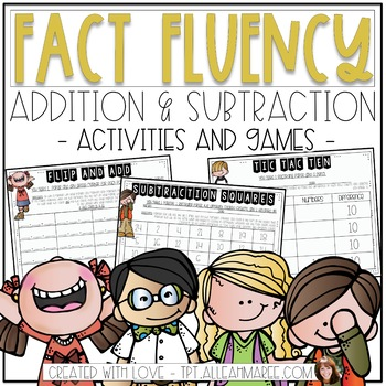 Fact Fluency Addition & Subtraction Activities