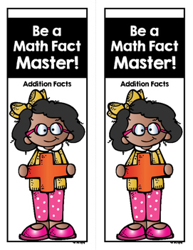 Fact Fluency Addition and Subtraction Practice Cards