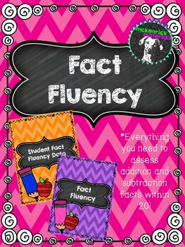 Fact Fluency Assessment, Progress Monitoring, and Student Accountability Pack!