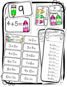 Fact Fluency BIG BUNDLE for Addition to 20 Facts