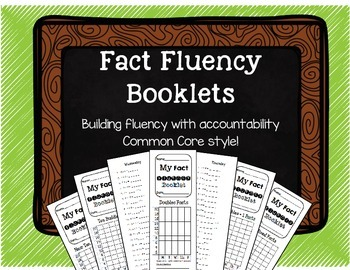 Fact Fluency Booklets for the Common Core Classroom