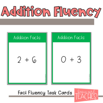 Fact Fluency Bundle
