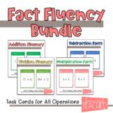 Fact Fluency Task Cards Bundle