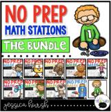 No Prep Math Stations - The Bundle