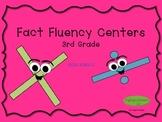 Multiplication Fact Fluency Centers, Grade 3