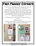 Fact Fluency Corner Posters