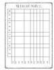 Fact Fluency Data Binder Graphs
