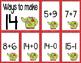 Math Fact Fluency for December (11 to 20)