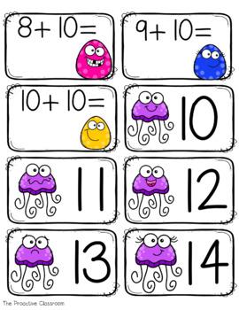 Fact Fluency Fast Tens Addition- Adding Ten
