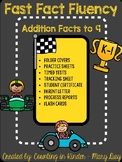 Fact Fluency- Fast Track to Math Facts {Addition to 9}