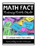 Fact Fluency Flash Cards and Number Sequencing Cards for M
