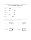 Engage NY Eureka Grade 1 Module 4 Mid Module Review/Diagnostic Test
