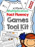 Fact Fluency Games Tool Kit: x1 Multiplication. 2nd, 3rd, 4th, 5th Grades