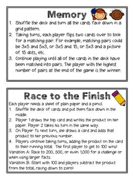 Fact Fluency Games Tool Kit: x10 Multiplication