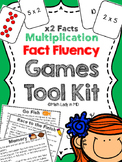 Fact Fluency Games Tool Kit: x2 Multiplication. 2nd, 3rd, 4th, 5th Grades