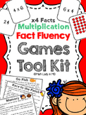 Fact Fluency Games Tool Kit: x4 Multiplication. 2nd, 3rd, 4th, 5th Grades