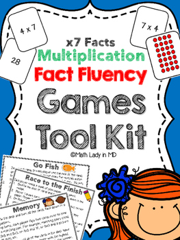 Fact Fluency Games Tool Kit: x7 Multiplication