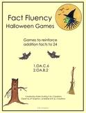 Fact Fluency Halloween Games