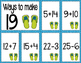 Math Fact Fluency for June & July (11 to 20)