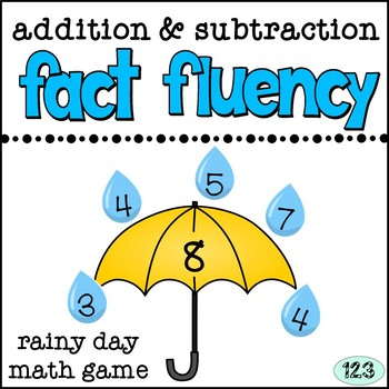 Fact Fluency Math Game - Addition & Subtraction within 20
