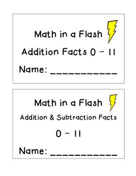 Fact Fluency - Math in a Flash