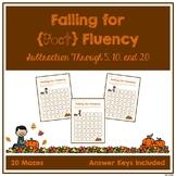 Fact Fluency Mazes - Subtraction