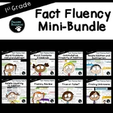 First Grade Fact Fluency Bundle (Standards-Aligned)