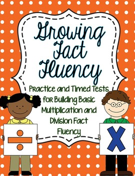 Fact Fluency Timed Tests Multiplication and Division