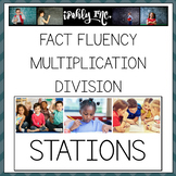 Fact Fluency Multiplication and Division Games and Station